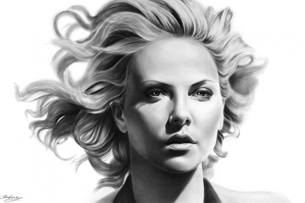Charlize Theron por Rubina10